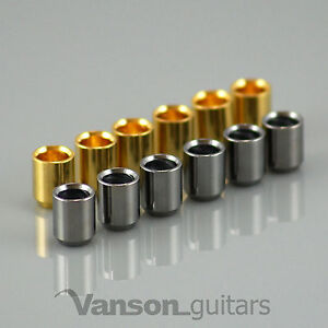 6-x-NEW-High-Quality-Smooth-Guitar-Ferrules-mounting-string-through-back