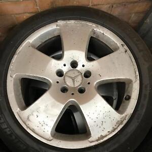 Mercedes Benz S class w221 wheels tyres Port Melbourne Port Phillip Preview