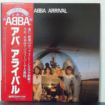 ABBA ARRIVAL DISCOMATE DSP-5102 Japan OBI VINYL LP