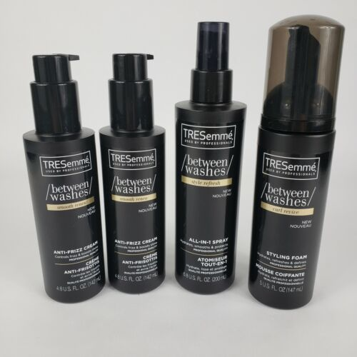 Tresemme Hair Styling Between Washes Lot of 4 Various Produc