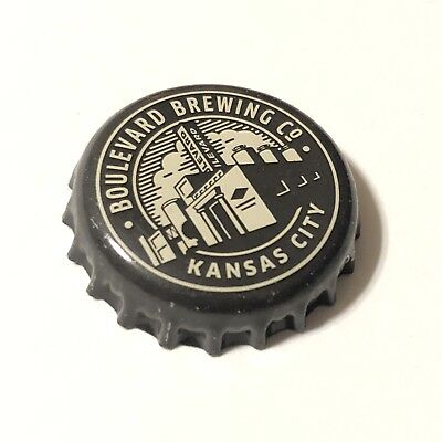 Boulevard Brewing Company Beer Bottle Crown Cap Kansas City Missouri - Party City Crowns