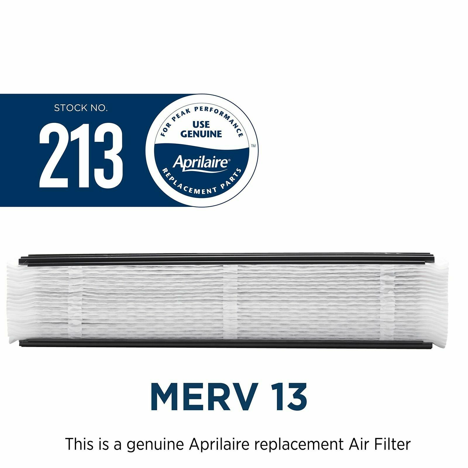 8-pack Aprilaire 213 Air Filter for Aprilaire Whole Home Air