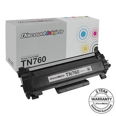 TN760 for Brother Black New w/chip Toner Cartridge TN730 MFC-L2710DW L2730DW