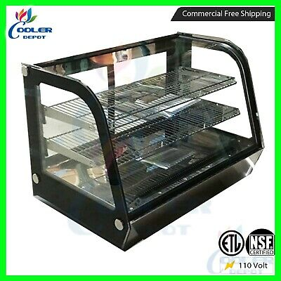 48 Countertop Refrigerated Display Showcase Bakery Pastry Deli Casensf New