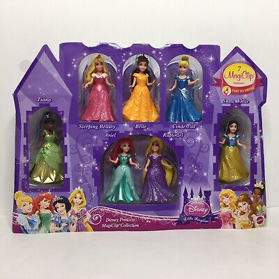 Disney Princess Magiclip Fashion Collection Aerial Cinderella Snow White Tiana](Aerial Disney)