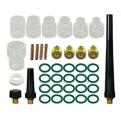39pcs Db Sr Wp 9 20 25 Tig Welding Torch Tig Gas Lens Collet Body Pyrex Cup Kit