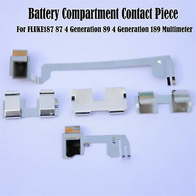 For Fluke187 87 89 4 Generation 189multimeter Battery Compartment Contact Piece