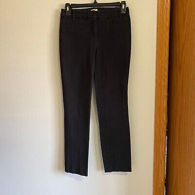 J. Crew Factory Size 0R Stretch Gray Pants Business Work Wear