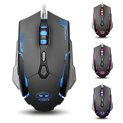 Magece G2 Gaming Mouse 3200 Dpi Led Optical Usb Wired Gaming Mice 7 Buttons