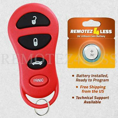 Keyless Entry Remote for 2002 2003 2004 Jeep Liberty Car Key Fob -