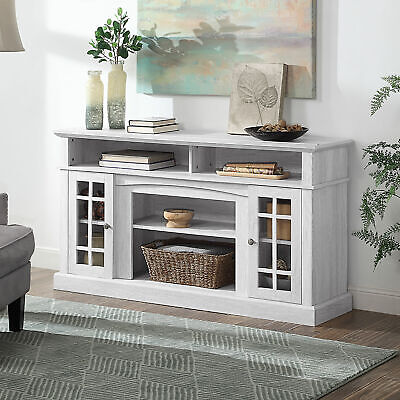 """Astorga TV Stand Console For TV's Up to 65"""" Entertainment Center, Sargent Oak"""
