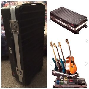 GATOR GIG-BOX *Pedalboard & Guitar Stand in One* ROAD CASE