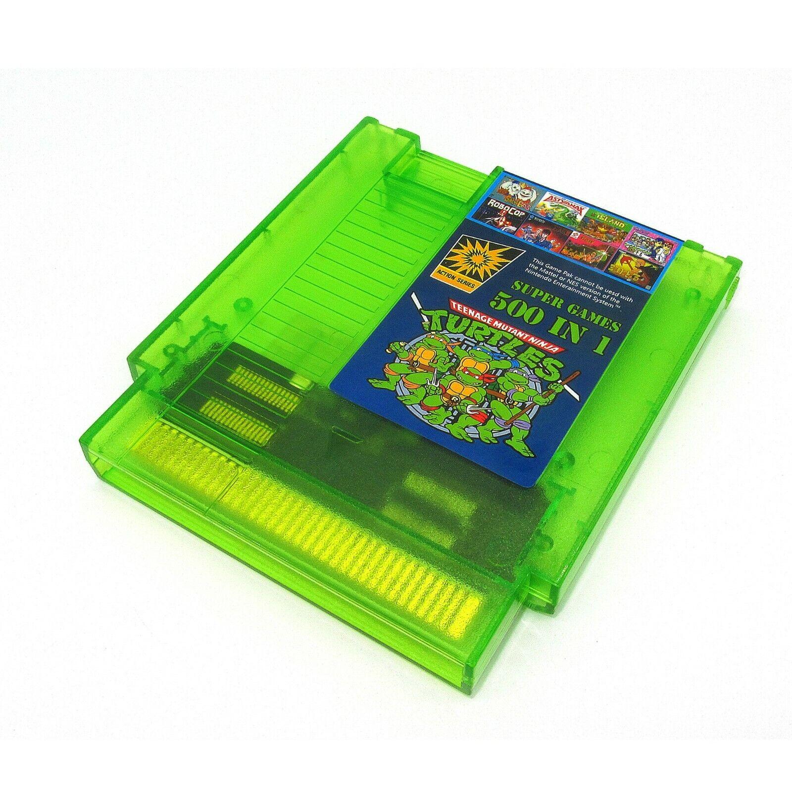 Super Games 500 in 1 Nintendo NES Cartridge Multicart - Newe