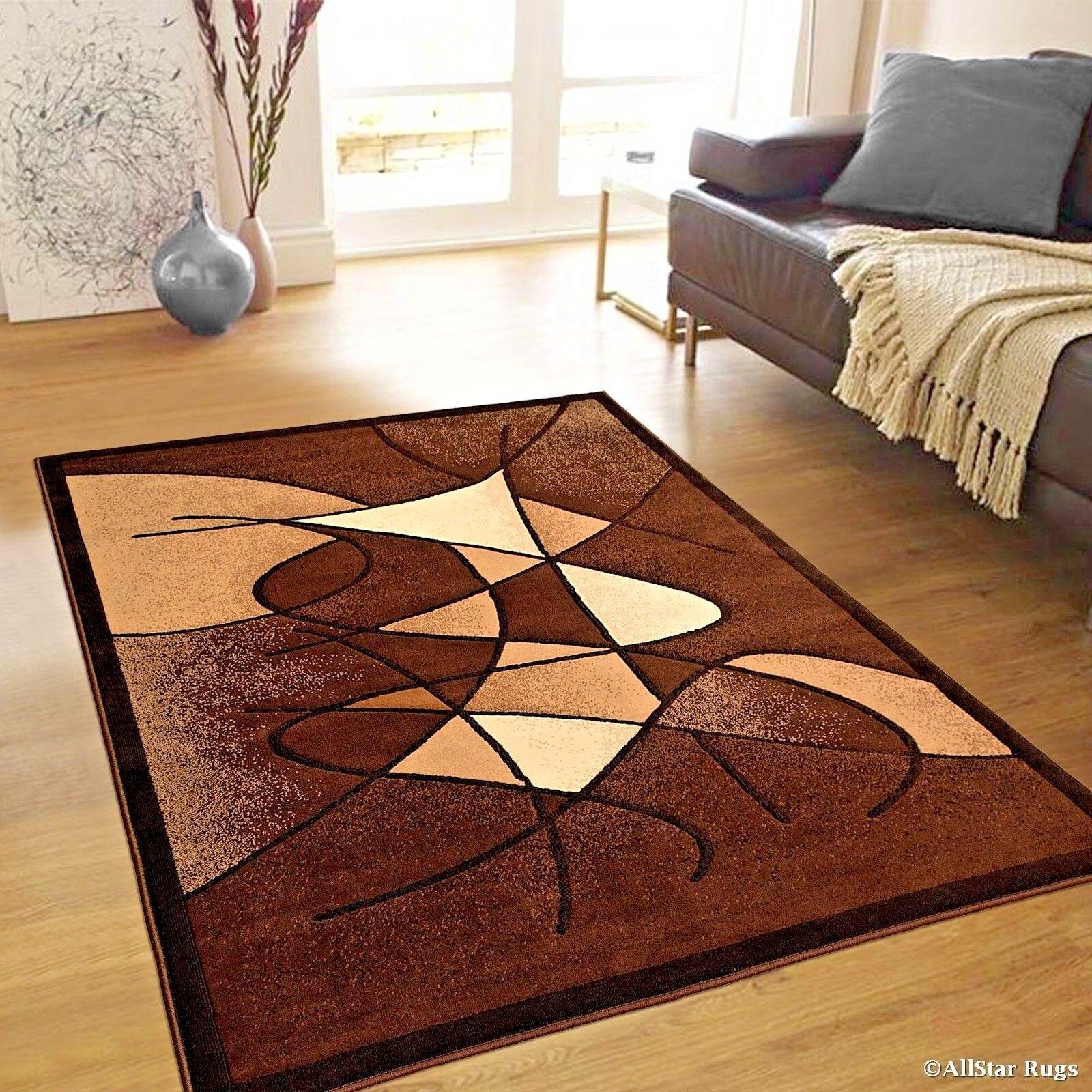 How Big Is 8x10 Rug.Details About Rugs Area Rugs Carpets 8x10 Rug Modern Large Floor Room Big Cool Brown Cute Rugs
