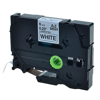1pk Tz 211 Tze-211 Black On White Label Tape For Brother P-touch Pt-1750 14