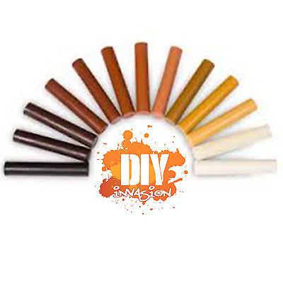 waxstix timber wood wax stick touch up crayon furniture repair scratches filler ebay. Black Bedroom Furniture Sets. Home Design Ideas