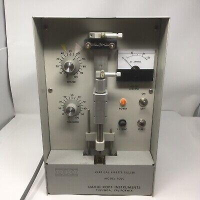 David Kopf Instruments Model 700c Vertical Pipette Puller Solenoid Not Working