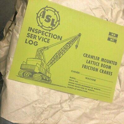6 Bucyrus-erie Shovel Crane Excavator Inspection Carrier Bucyrus Erie Hydraulic