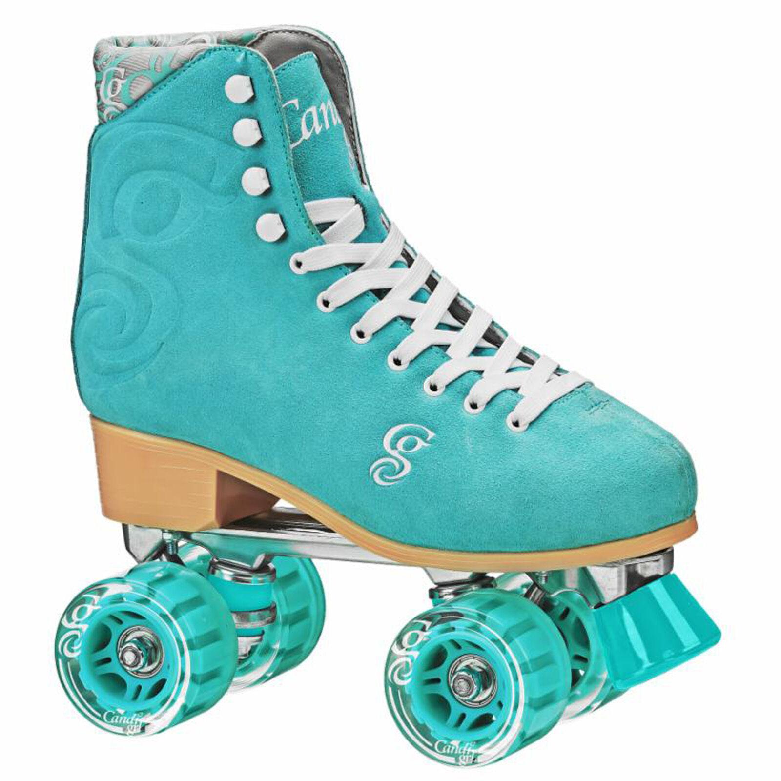 New Candi Girl Carlin Sea Foam Roller Skates Girls Ladies Si
