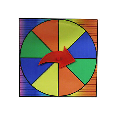 Prize Wheel Party Game Spinner Customize with Dry Erase or Washable Marker - Game Spinner Wheel
