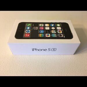Black iPhone 5s Box