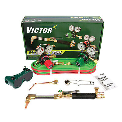Customer Returned 0384-2691 Victor Torch Kit Set With Regulators Cga-300