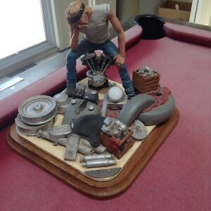 "1994 Mark Patrick Harley Davidson ""Basketcase"" sculpture"