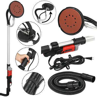 Electric Variable Speed Drywall Vacuum Sander With Handle Hose 6 Discs