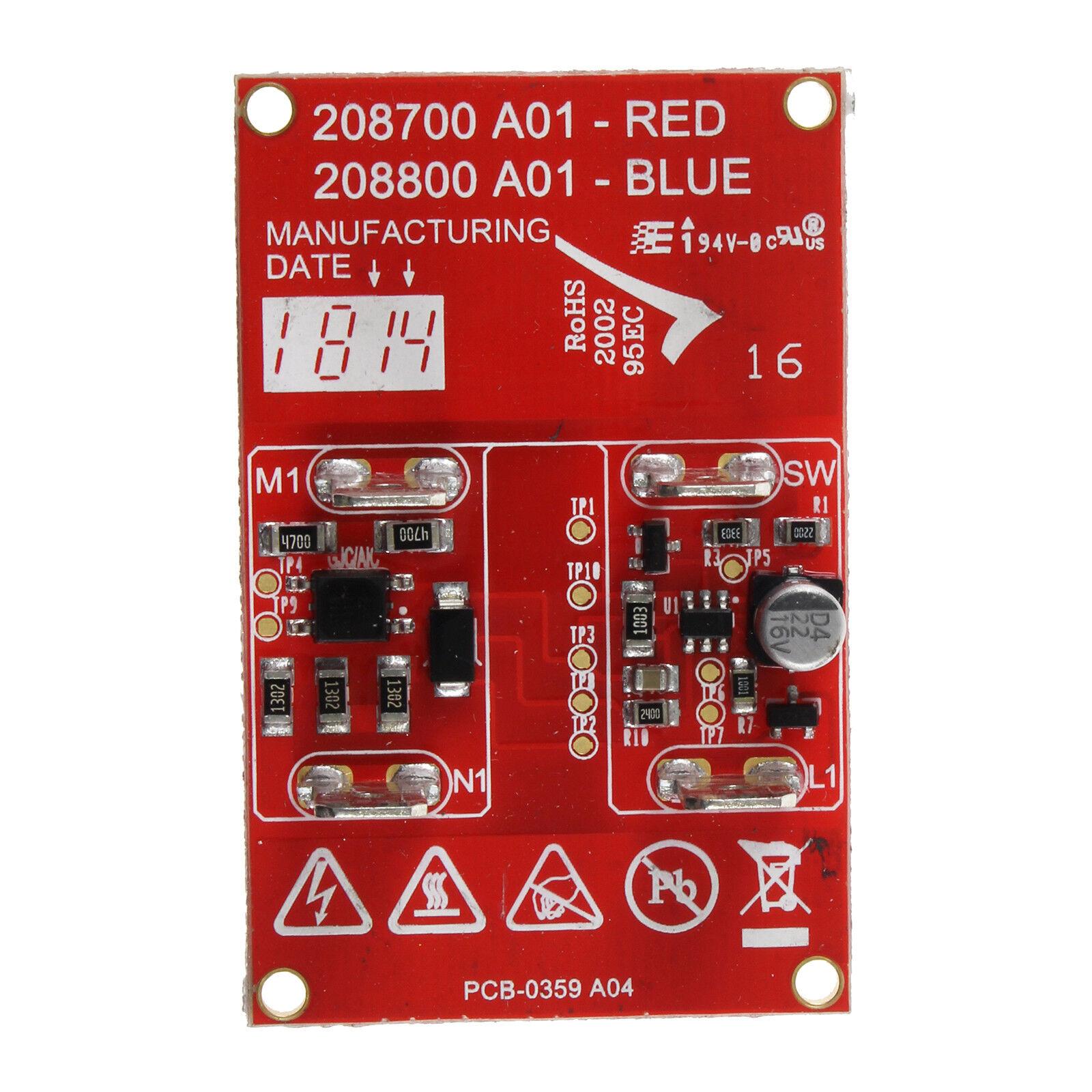 HVR200A 2-Speed PCB Control Module Genuine Numatic JVP180A HHR200A HET200A
