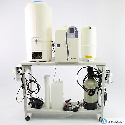 Millipore Elix Advantage 15 Water Purification System W60l Tank Pump More