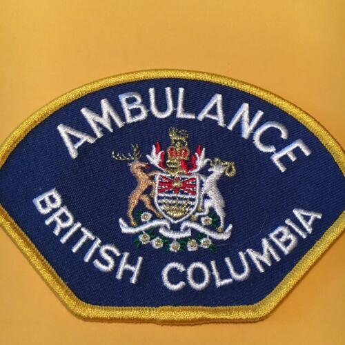 British Columbia Ambulance EMS Fire Patch