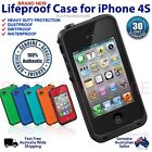Matte Waterproof Cases, Covers & Skins for iPhone 4