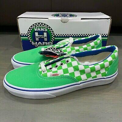 Vans Era Haro Master Shoes Men's Size 8.5 Green Freestyler Old School BMX, usado comprar usado  Enviando para Brazil