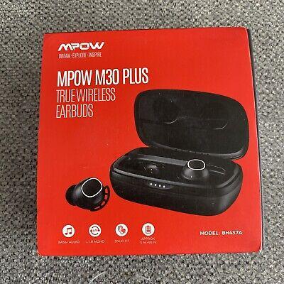 Wireless Earbuds Mpow M30 Plus Bluetooth Headset Deep Bass Earphones Waterproof