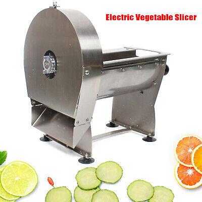 Commercial French Fries Slicer Electric Veggie Food Cutter Kitchen 110v-220v New