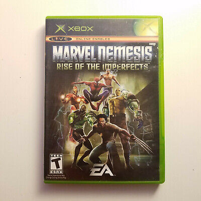 Marvel Nemesis: Rise of the Imperfects - XBOX - FAST