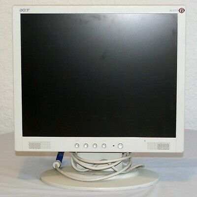 Acer AL1715 wm LCD Monitor Tested & Warranty