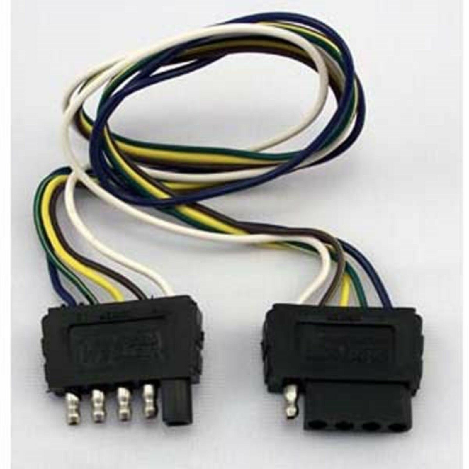Wesbar Wiring Harness Detailed Schematics Diagram 5 Wire Trailer 707255 Way Extension Ebay Camper