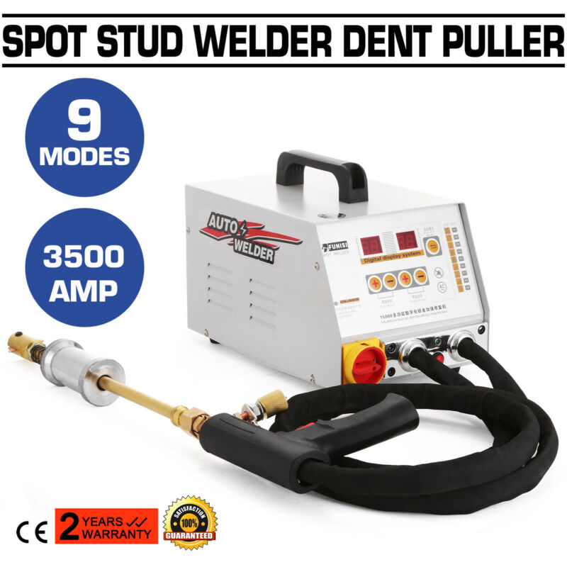3500A Vehicle Panel Spot Puller Dent Multispot Bonnet/Door Repair Active Welder