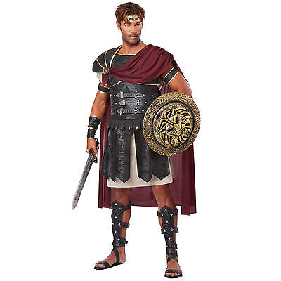 Gladiator Halloween (ADULT MENS ROMAN GLADIATOR ANCIENT WARRIOR SOLDIER ROME HALLOWEEN COSTUME)