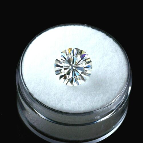 Loose Round 6.00 mm White Diamond 0.97 CT Diamond with Certificate Hardness 9