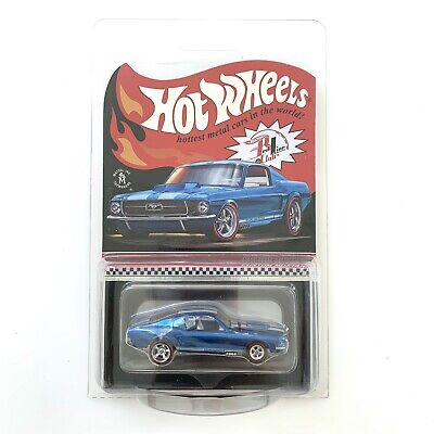 Hot Wheels RLC CUSTOM MUSTANG 2020 blue #9212