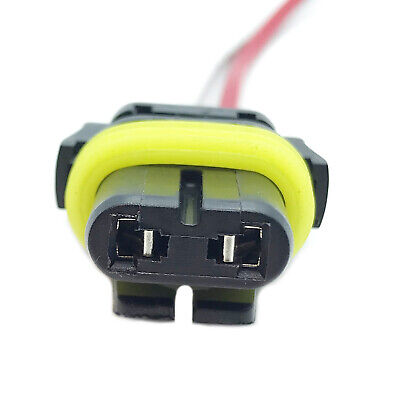 9006 HEADLIGHT FOG LIGHT BULB HOLDER WIRING HARNESS LOOM