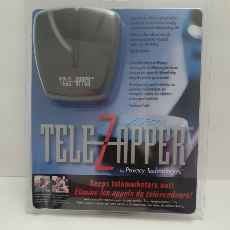 TeleZapper Telephone Telemarketers Blocker by Privacy Technologies