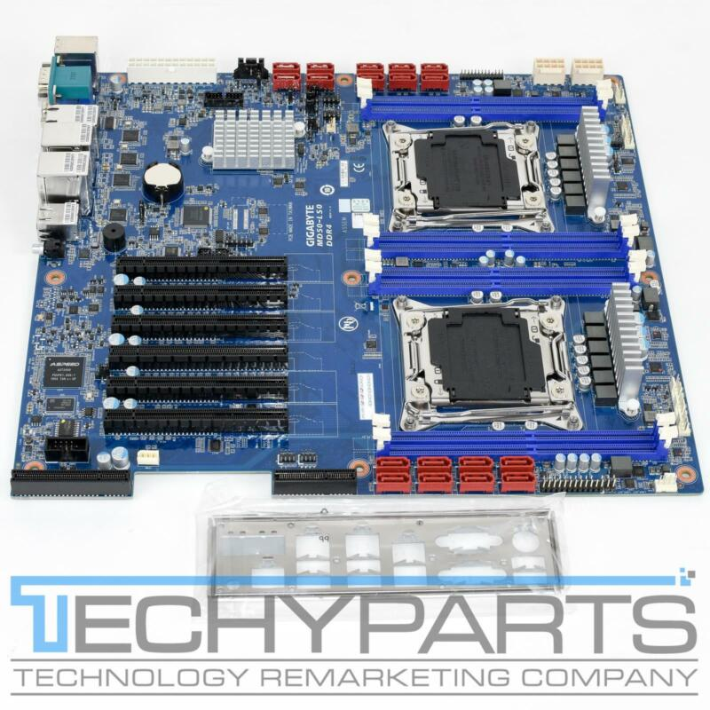 Gigabyte MD50-LS0 Intel C612 2x  LGA2011-3 E-ATX/SSI EEB Workstation Motherboard