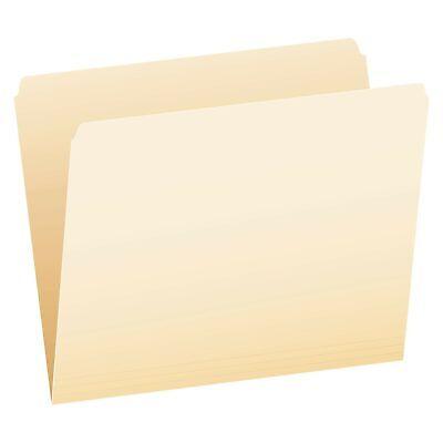 Pendaflex 752 File Folders Straight Cut Top Tab Letter Manila Box Of 100