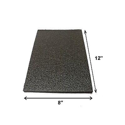 Foam Sheet 12x 8 0.5 12 Thick Black Packaging Shipping Firm 998-61x1