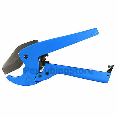 Pex Cutter Tool Ratchet Type For Up To 1-14 Od Pipes Also Works For Cvpc