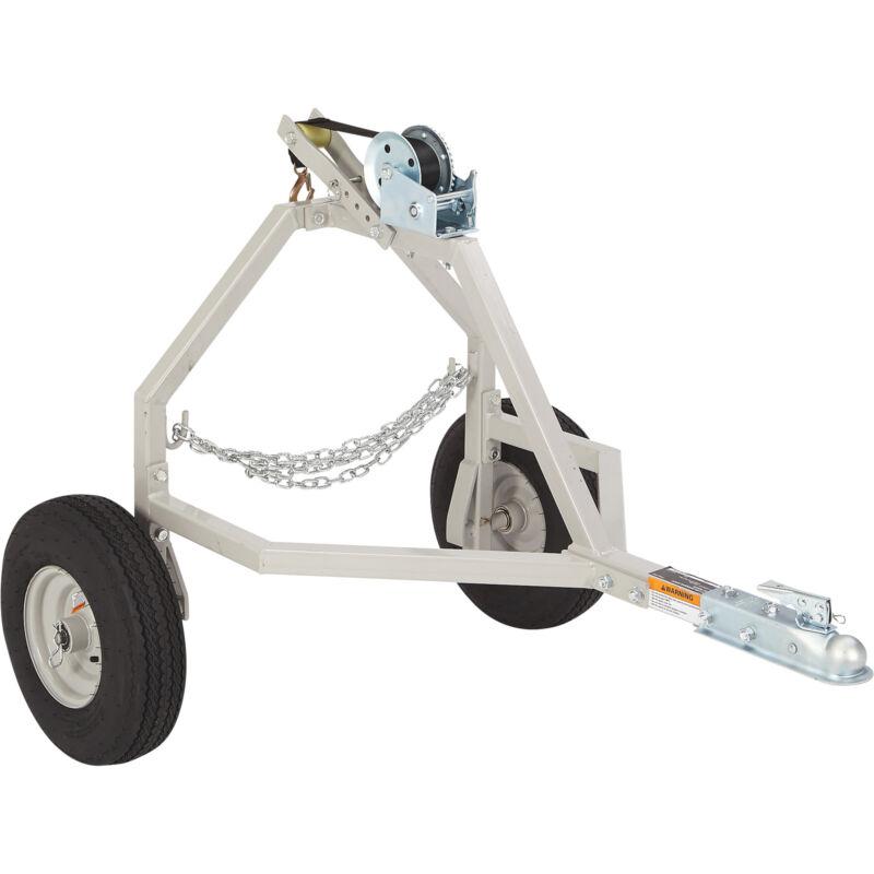 Strongway ATV Log Skidding Arch - 1,000-Lb. Capacity, 18in. Dia. Capacity