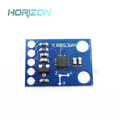 Hmc5883l Gy-273 3v-5v Triple Axis Compass Magnetometer Sensor Module For Arduino